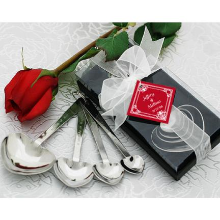 Recipe for Love, Measuring Spoons Wedding Favour