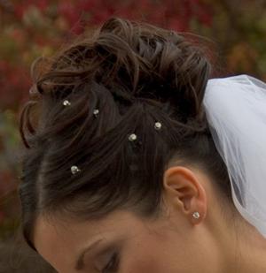 Bridal Updo Style #4