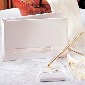 HerWeddingShop, Glamour Guest Book and Pen Set