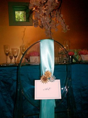 Ghost Chair Wedding Decor