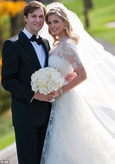Ivanka Trump Wedding Picture