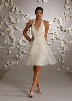 Cocktail Length Wedding Dresses - Fn Dress