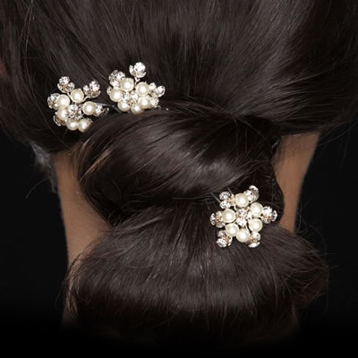 Toni Federici Headpieces for Weddings, Bun clip