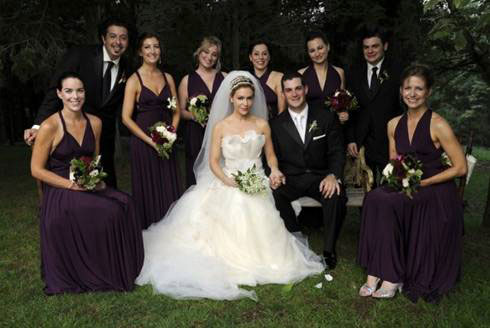 Alyssa Milano & David Bugliari Wedding