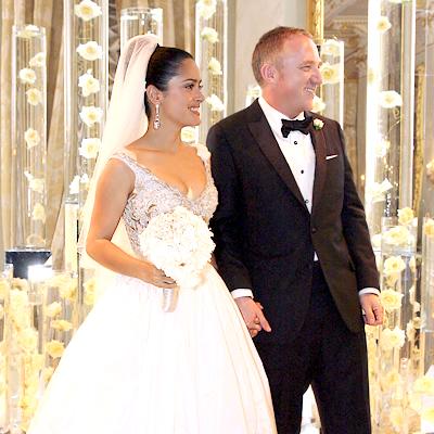 Salma Hajek & Francois-Henri Pinault