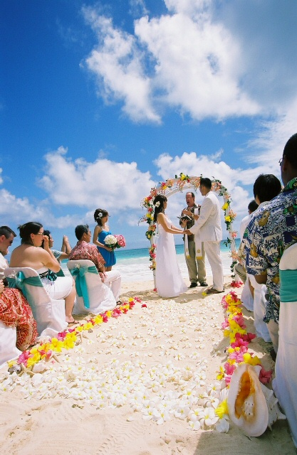 people are considering a beach themed wedding to jumpstart their journey