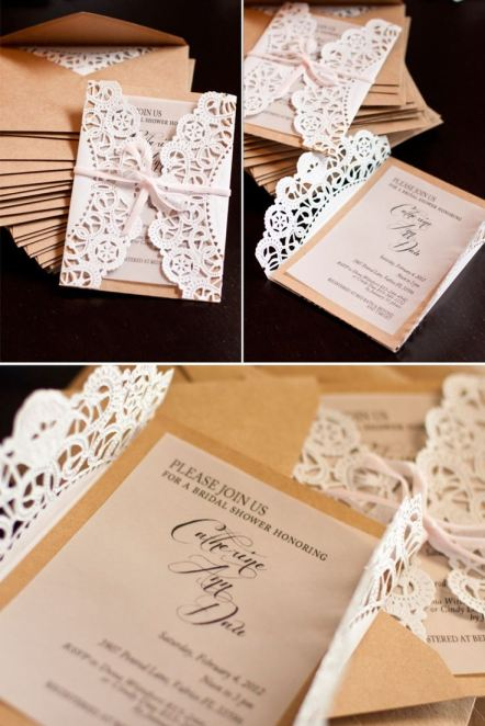 Diy wedding invitation inspiration