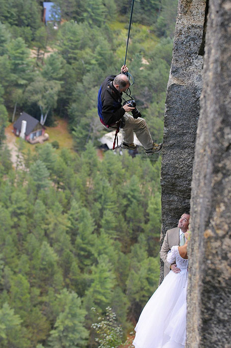 Extreme wedding photography 2