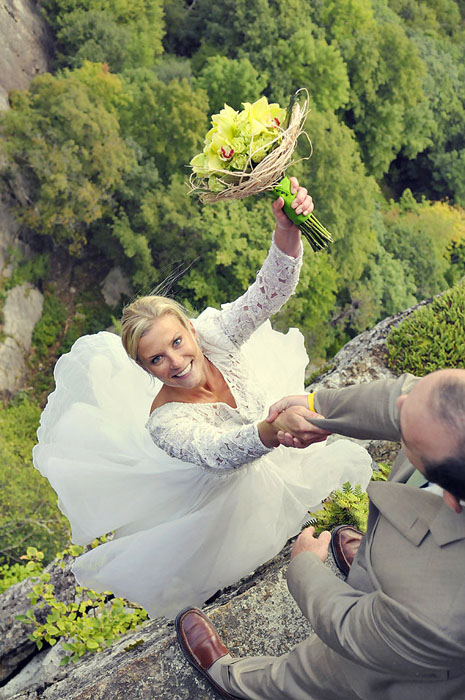 Extreme wedding photography 3