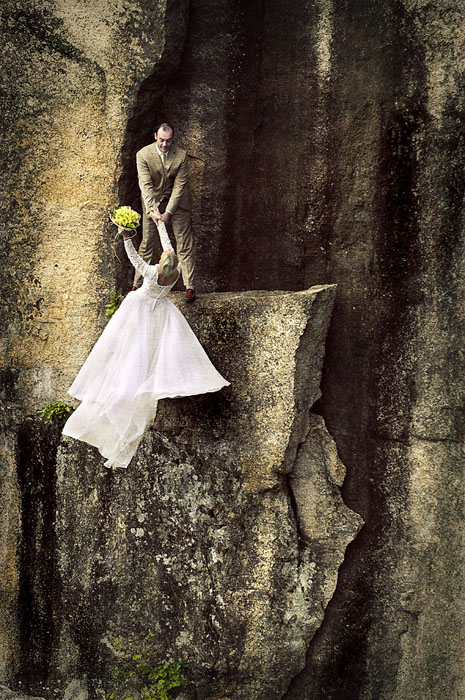 Extreme wedding photography 4