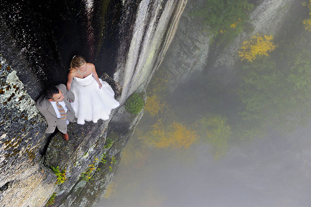 Extreme wedding photography 8