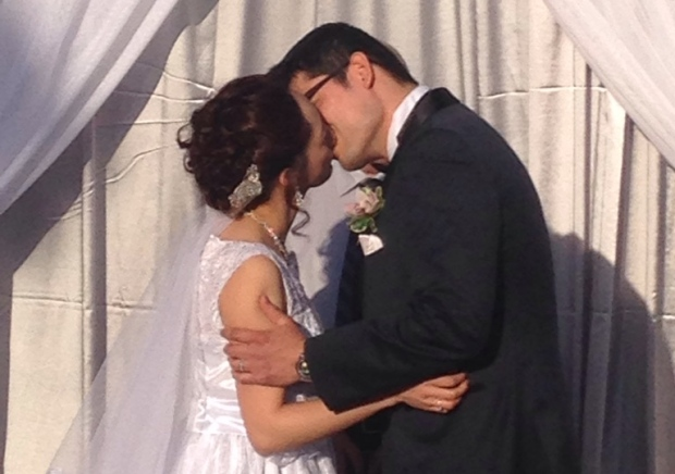 A surprise wedding thrown for a couple after the largest wildfire evacuation in Alberta's history1