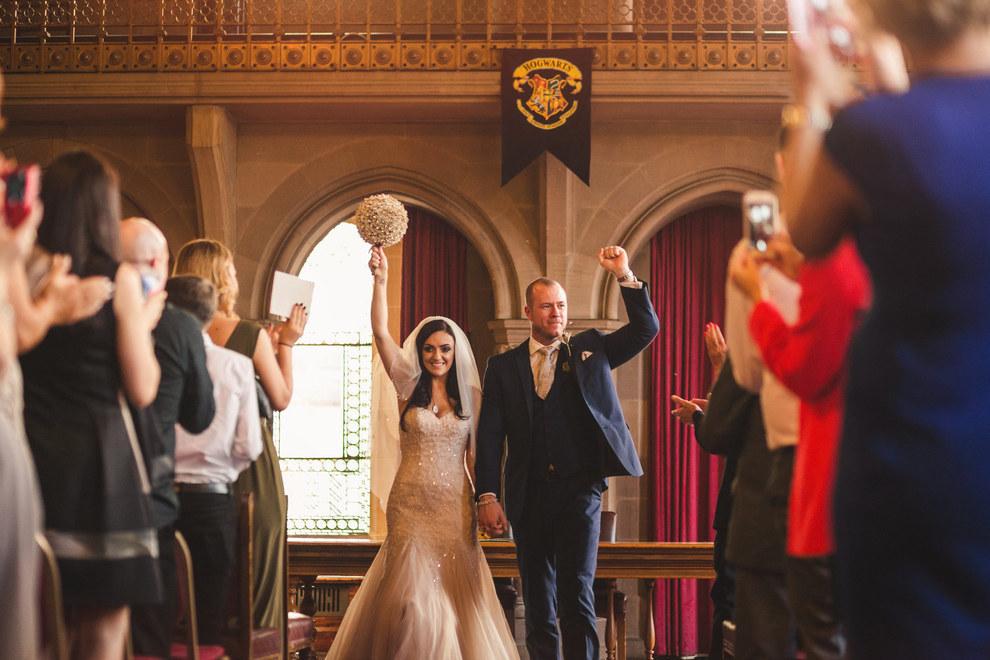 Harry Potter Themed Wedding 1