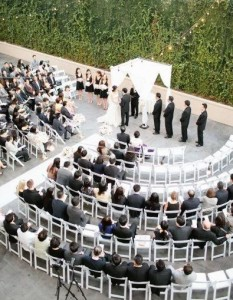 Wedding ceremony seating ideas 1