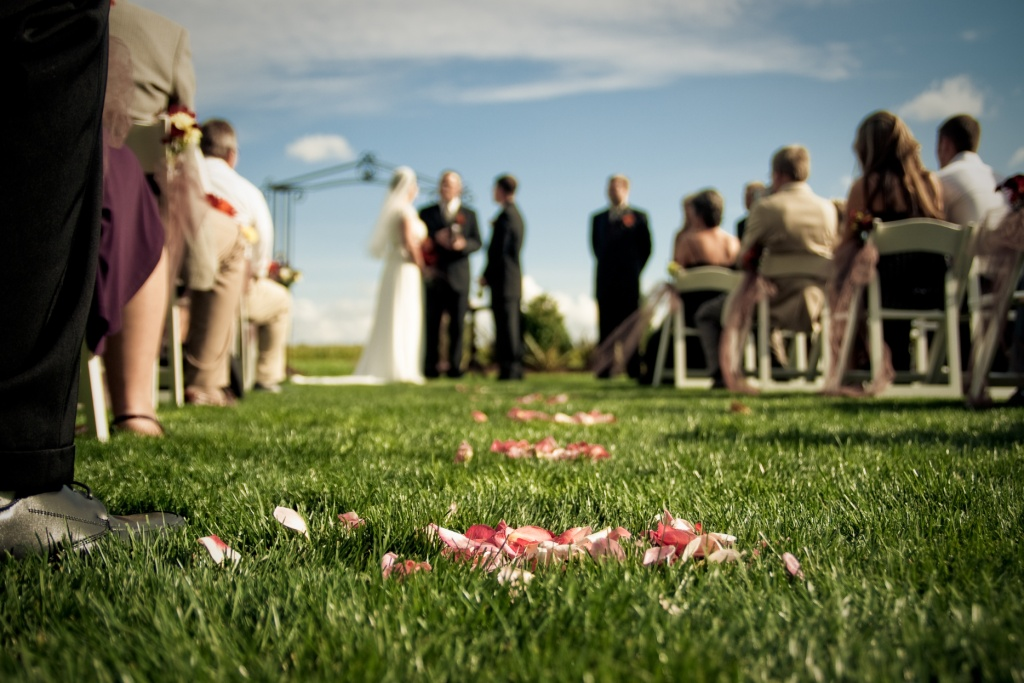 Wedding ceremony seating ideas