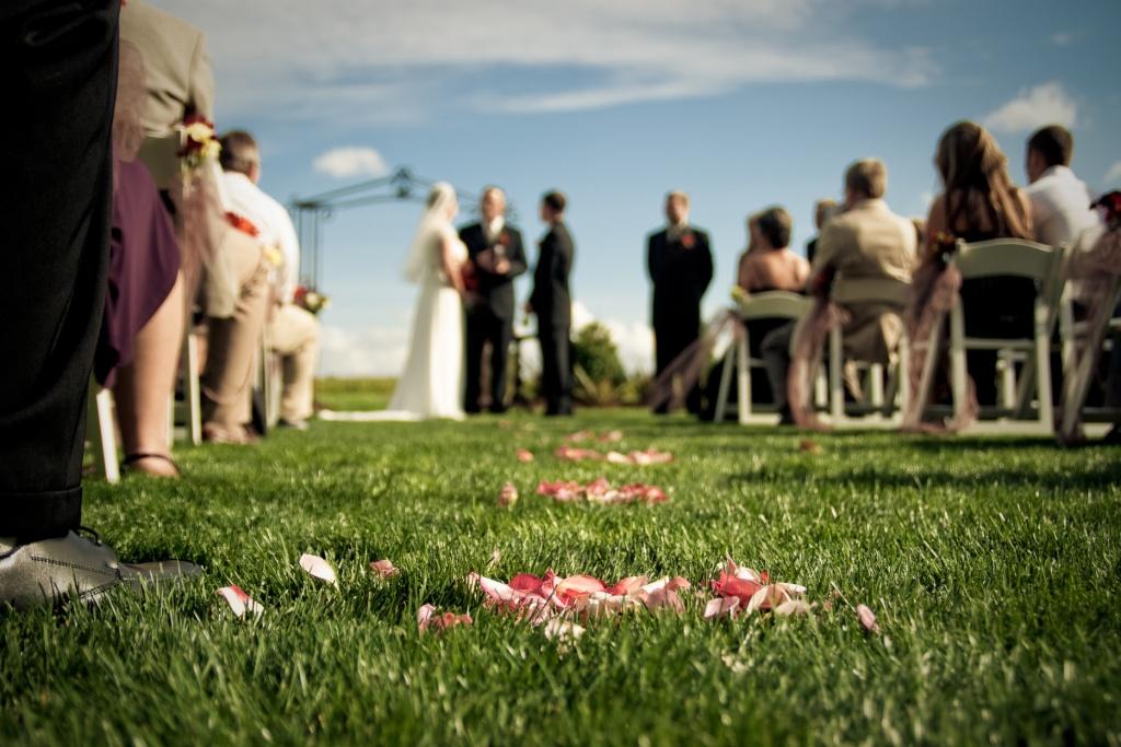 Wedding ceremony seating ideas