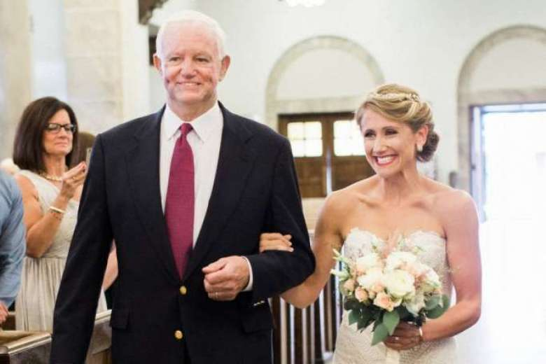 Walking down the aisle hand in hand with the man in whose chest beats your dad's heart 2