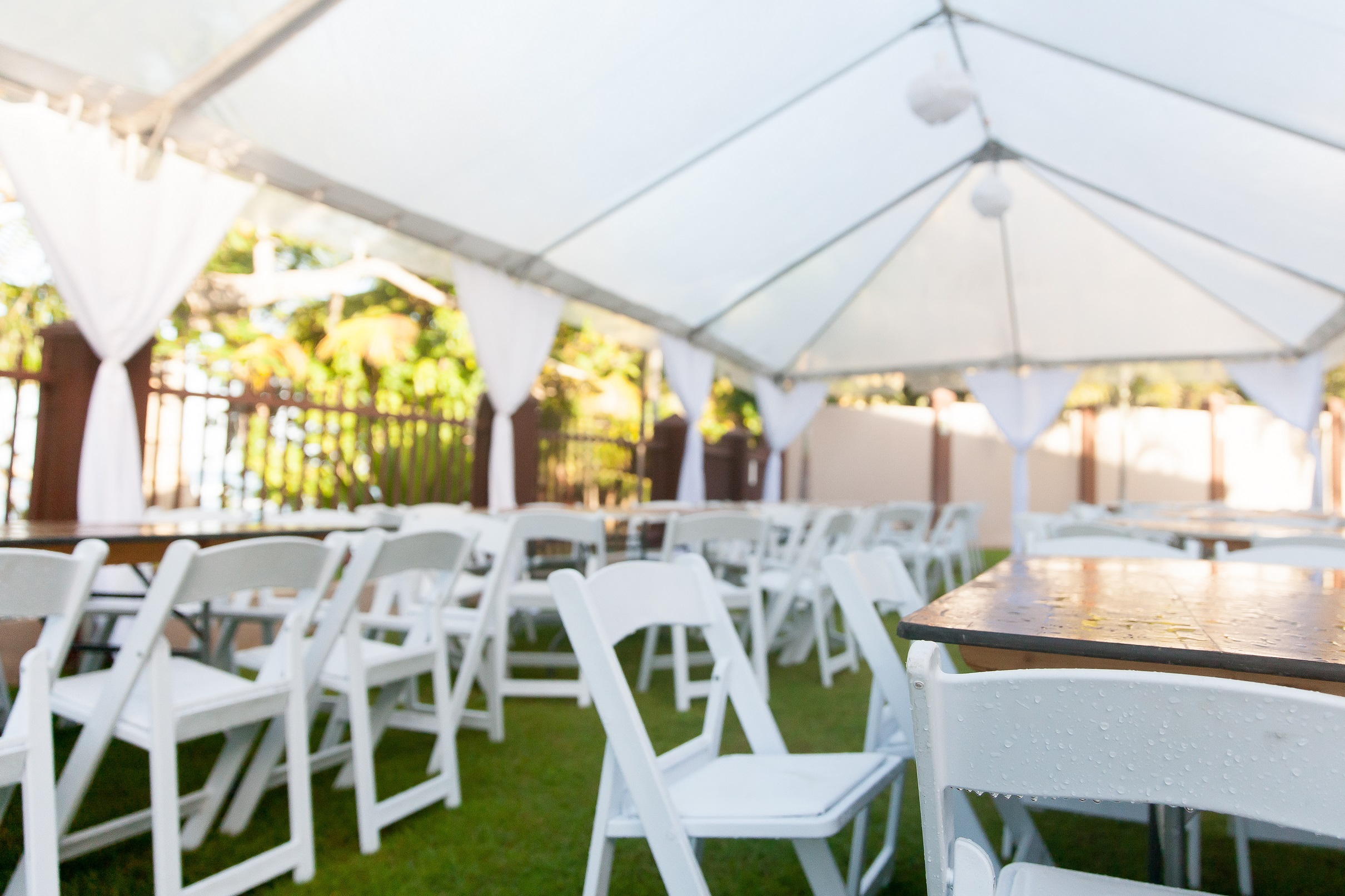 The wedding tent - 4 things you need to know