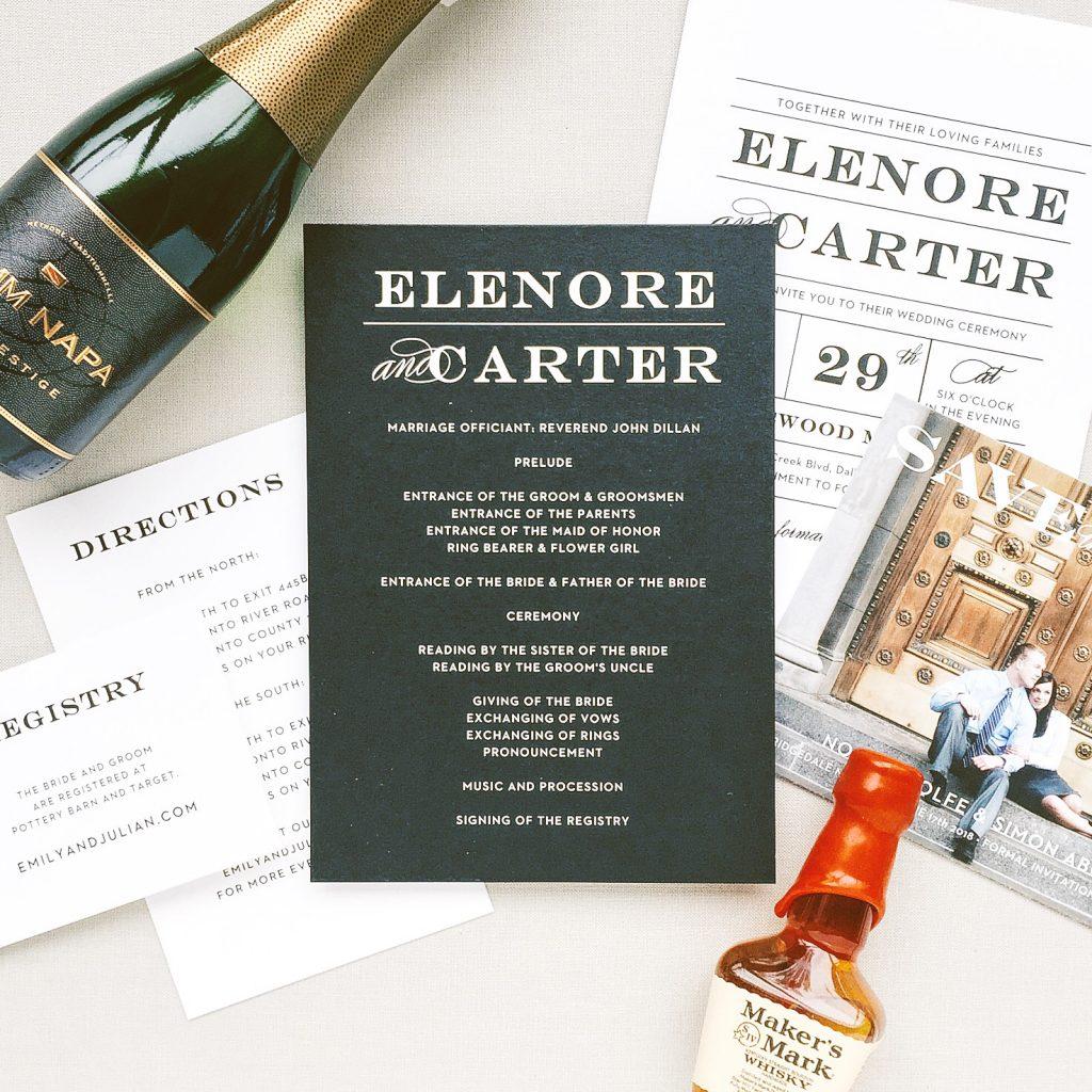 3 Wedding Invitation Tips from an industry insider