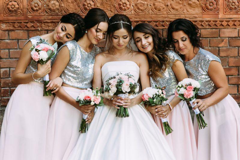 Choosing bridesmaid dresses