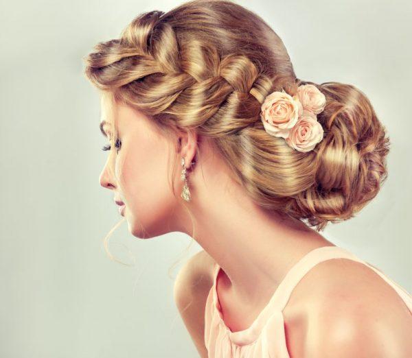 Wedding hairstyles through time